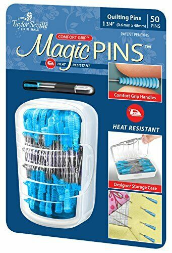 Taylor Seville Magic Quilting Pins - 50 Pack